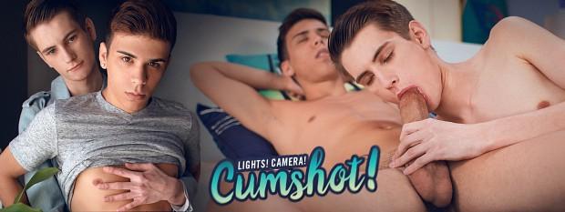 Lights! Camera! Cumshot!