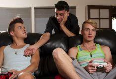 Helix Studios - Video Game Threesome #1